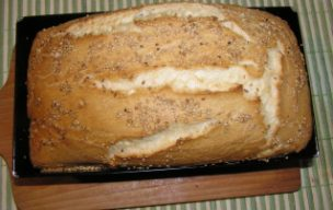 Chlebek z sezamem