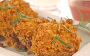 Nuggetsy z mielonego mięsa z kurczaka