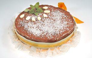 Tort czekoladowy brownie bez mąki