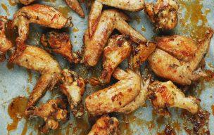Pieczone skrzydełka z kurczaka