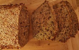 Chleb z płatków owsianych