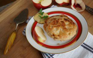 Racuchy z jabłkami bez jajek