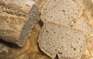 Chleb z mąk jednorodnych na zakwasie