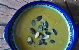 Wyśmienita zupa dyniowa z soczewicą