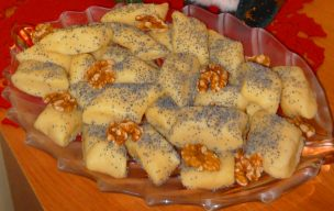 Wigilijne kluski ziemniaczane z makiem