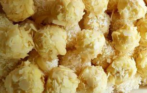 Kokosowe kulki z serkiem mascarpone