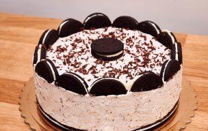 Szybkie ciasto Oreo bez pieczenia