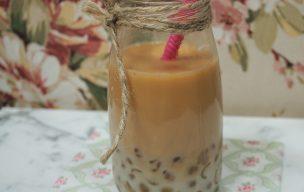 Tajwańska herbata mleczna bubble tea