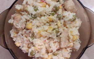 Prosta sałatka ryżowa