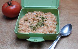Pomidorowa owsianka