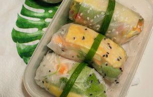 Zdrowe spring rolls